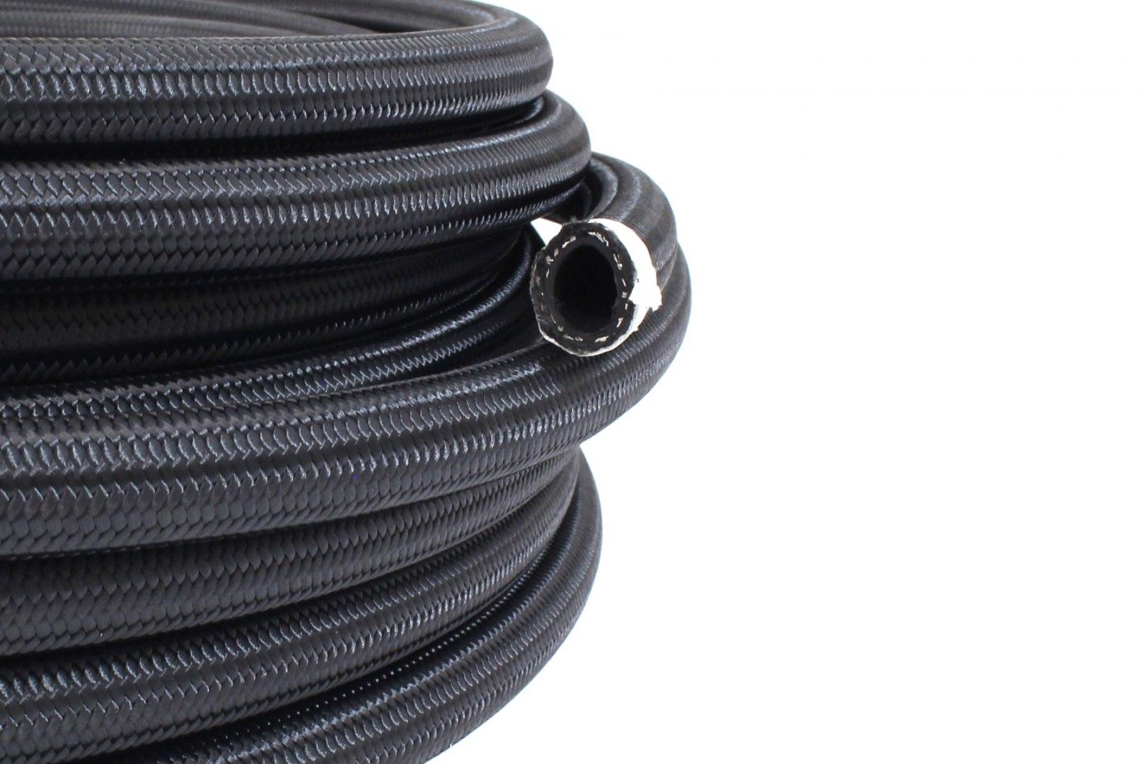 Przewód AN8 11mm CPE oplot nylonowy - GRUBYGARAGE - Sklep Tuningowy